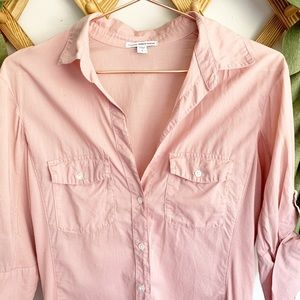James Perse Tops - Standard James Perse Blush Slub Side Panel Shirt